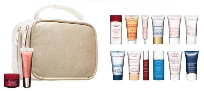 clarins freebie time to choose offer