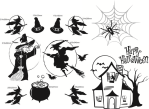 window wall halloween vinyl decals